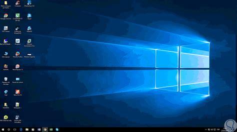 como cambiar espacio de iconos escritorio windows