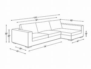walters fabric sectional sofa interior define interior With sofa couch length