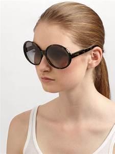 stella mccartney oversized plastic sunglasses in