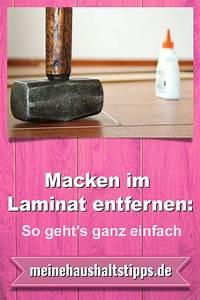 Macken Im Holz Ausbessern : macken im laminat entfernen so geht s ganz einfach sieht aus wie holz ist es aber nicht ~ Watch28wear.com Haus und Dekorationen