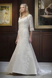 dressybridal modest wedding gowns style to be elegant With tznius wedding dresses