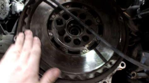 volvo   duel mass flywheel excessive wear youtube