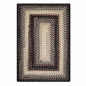 Buy Black Mist Outdoor Braided Rugs Online - Homespice