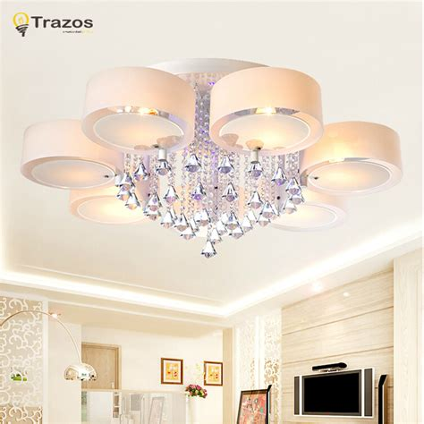 contemporary dining room ceiling lights crystal led ceiling lights modern fashionable design