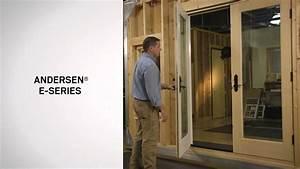 Identifying The Series Of Andersen U00ae Hinged Patio Doors