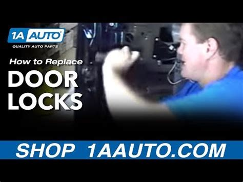 install replace door locks chevy gmc truck