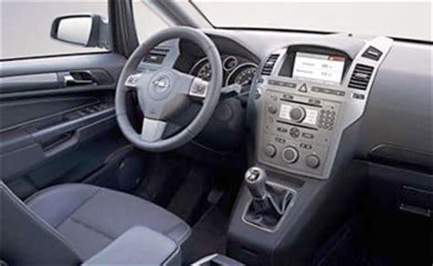Opel Zafira Interior by Interior 187 2007 Opel Zafira 6 1 Photos