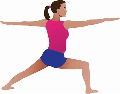 Yoga Clipart Clip Pose Poses Cliparts Doing