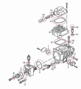 Seal Repair Kit For Bosch Vp37 Pumps