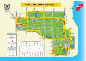 cat routes penang hop on free central area transit cat
