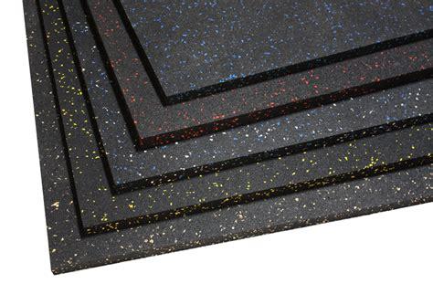 Rubber Floor Mat Black