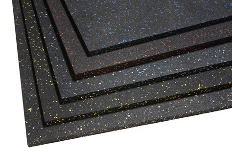 "3/4"" 4' x 6' Extreme Mats   Rubber Gym Matting"