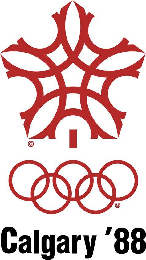 Olympics Logo 1988 Winter Olympics