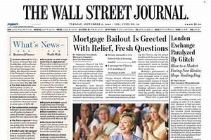 This Day in Crisis History: Sept. 9, 2008 - MoneyBeat - WSJ