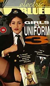 electric blue special girls  uniform  vhs girls