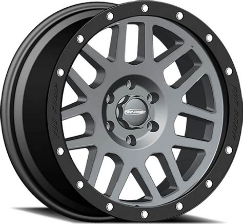 pro comp wheels and tires 2640 7973 pro comp series 40 vertigo matte graphite 1 alloy