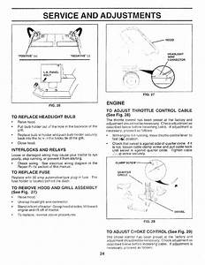 Page 24 Of Sears Lawn Mower 917 25147 User Guide