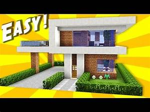 Minecraft Pocket Edition Tutorial How To Build A Modern