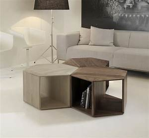 Minimalist and functional hexa coffee table digsdigs for Minimalist coffee table