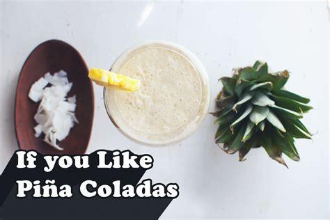 how to make a pina colada how to make a pi 241 a colada healthy wake the wolves