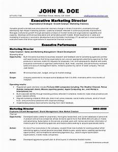 marketing director resume jvwithmenowcom With resume for it director position