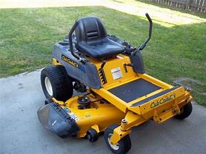 Cub Cadet Zero Turn Rzt 50 Manual
