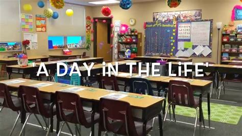 A Day In The Life Of An Elementary School Teacher Youtube