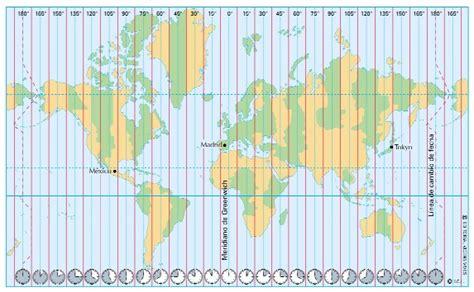 para pensar un poco la importancia de los husos horarios geobiombo