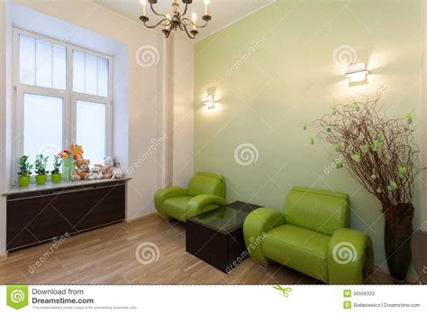 green waiting room stock photos image 30556333