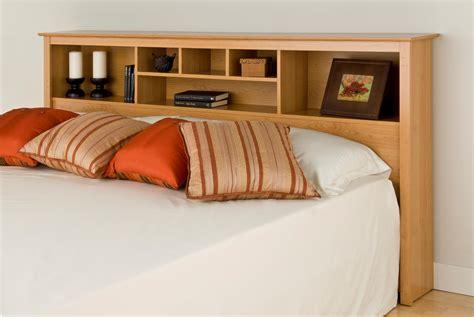 bookcase headboard king king headboard bookcase sonoma maple light brown wood ebay