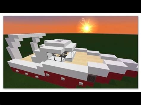 minecraft canapé minecraft tuto comment faire un bateau