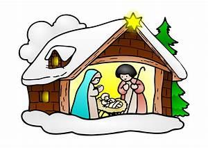 Merry Christmas Nativity Clipart | Clipart Panda - Free ...