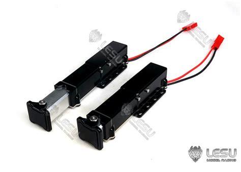 lili modellbau elektrische stuetzen fuer aufliegertrailer