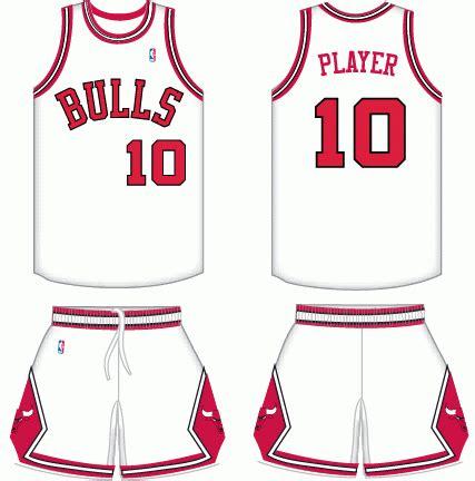 chicago bulls home uniform national basketball association nba chris creamers sports