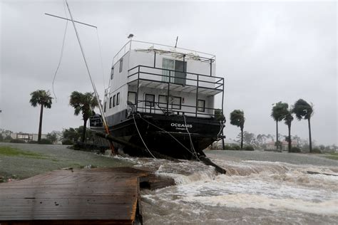 Public Boat Rs Port St Joe Fl by Photos Hurricane Michael Makes Landfall In The Panhandle