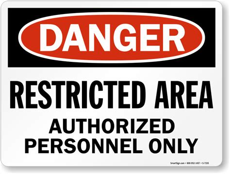 Osha Danger Restricted Area Authorized Personnel Only Sign. Make Your Own Prints. Departure Logo. Outdoor Sign Lettering. Green Floral Banners. Kycie Signs. Spectacles Logo. Ice Cream Signs Of Stroke. Converted Signs Of Stroke
