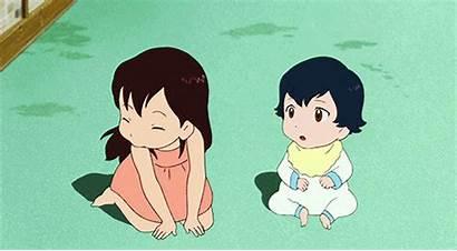 Wolf Anime Children Manga Essentials Mangauk Touching