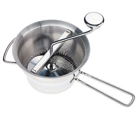 passe vite cuisine groentenmolen inox met 4 schijven passe vite kuchenprofi