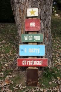 Wood Plank Christmas Tree