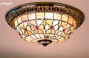 Buy wholesale tiffany flush mount ceiling light