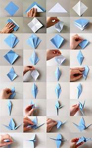 Mobile Basteln Origami : 25 unique origami ideas on pinterest origami paper folding how to make origami and diy ~ Orissabook.com Haus und Dekorationen