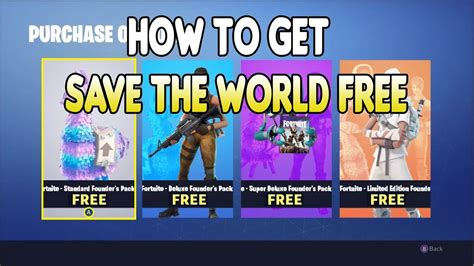 save  world   fortnite updated