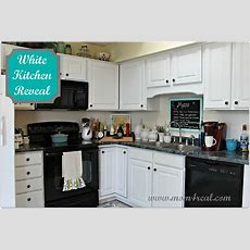 White Kitchen Reveal  A Before & After  Home Sweet Home