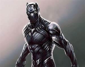 Striking Black Panther Concept Art from Marvel's Civil War