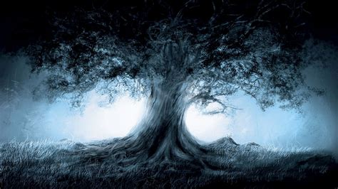 fantasy ultra hd wallpaper dark fantasy tree projects