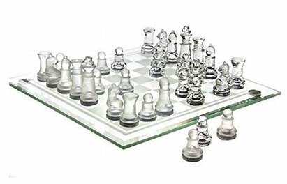Glass Chess Sets Board Crafted Includes Pieces