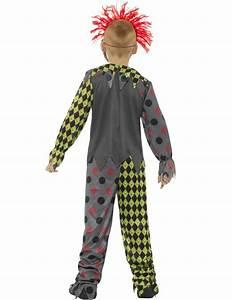 Halloween Skelett Kostüm : clownskost m mit skelettaufdruck f r kinder ~ Lizthompson.info Haus und Dekorationen