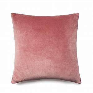Mercer + Reid - Bombay Velvet Cushion Rose - Homewares