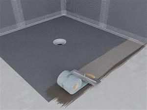 Etancheite Bac A Douche : faire une douche l 39 italienne avec un receveur pr t ~ Premium-room.com Idées de Décoration