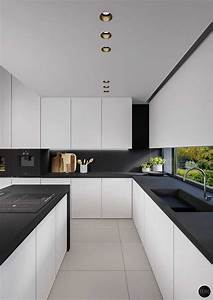 best black and white kitchen photo